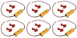 Ap Products 016-157lr Light Bulb Resistor 6 Ohm 50 Watts 2 Pack 6 Pack