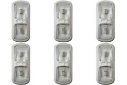 Arcon 20712 Dome Light - Led Dome Light- Led Clear Lens 6 Pack