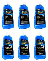 Meguiars M4916 Hull Cleaner Boat Rv 6 Pack