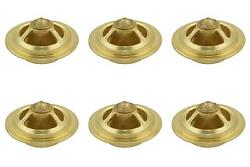 Mr. Gasket 4367 Thermostat 180 Degree Temperature Rating Copper Brass 6 Pack