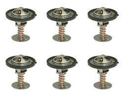 Mr. Gasket 6367 Thermostat 160 Degree Temperature Rating Copper Brass 6 Pack