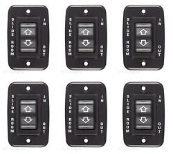 Rv Designer S141 Slide Out Switch Use With Slide Out Motor Control 6 Pack