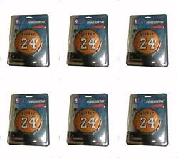 Powerdecal Pwrnba82024 Decal Nba R Series 24 Bryant Backlit Led Round 6 Pack