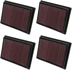 K And N Filters Pl-5712 Air Filter Filtercharger R Washable Red 4 Pack