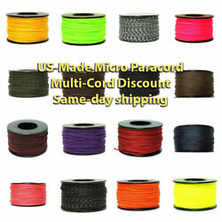 Micro Cord Paracord Usa Made 125 Ft Spool Same Day Shipping