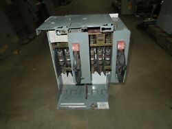 Allen Bradley 2100 Series 100a Twin Fusible Feeder Bucket 19.5 Tall Used