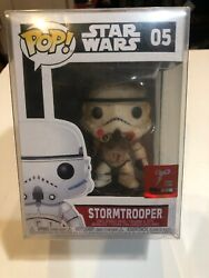 Limited Edition Toycon Exclusive Funko Pop Star Wars Stormtrooper 1 Of 5