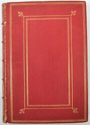 Antique Legends And Lyrics, A Book Of Verses Poetry Procter Chiswick Press 1888