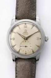 Omega 2576.10 Fab.suisse Notation Dial Automatic Vintage Watch 1948and039s Overhauled