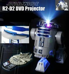2007 Nikko R2-D2 1/2 Scale DVD Projector Star Wars 770000A Factory Sealed Rare