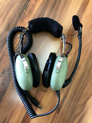 David Clark Headset Communication With Boom Mounted Microphone 40301g-03bn