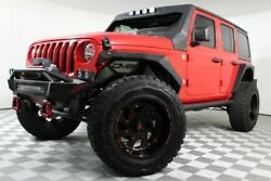 2018 Jeep Wrangler  JL Wrangler Unlimited Red Skyjacker ADD Bumpers Custom