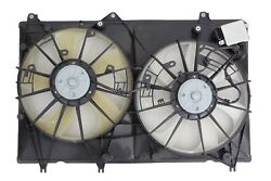 Dual Radiator And Condenser Fan Assembly Fits Toyota Highlander 312-55081-030