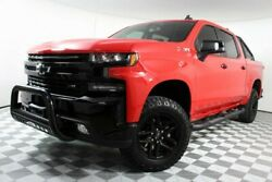 2019 Chevrolet Silverado 1500  Trail Boss LT Red One Owner Leather Used Chevy