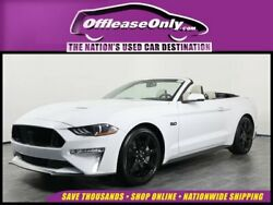 2019 Ford Mustang V8 GT Premium Convertible RWD Off Lease Only 2019 Ford Mustang V8 GT Premium Convertible RWD Premium Unleaded
