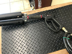 Atl Special Fx Club Party Cryo Double Barrel Gun Co2 Fog Cannon Jet Handheld