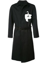 Neil Barrett Siouxsie Belted Trench Coat Jacket Made In Italy Aw17