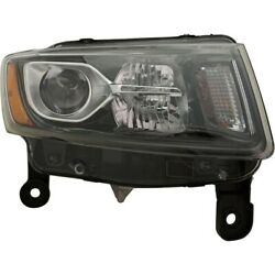 Headlight Lamp Right Hand Side Passenger Rh For Jeep 14-16 Ch2503308 68236108ae