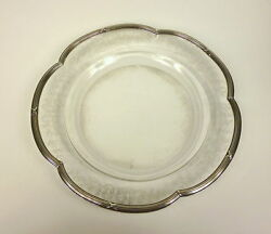 Baccarat Plate France About 1860 Silver Fine Polish