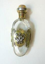 Rare Perfume Bottle About 1860 Silver