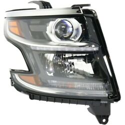 Hid Headlight Lamp Right Hand Side For Chevy Hid/xenon Passenger Rh Gm2503406