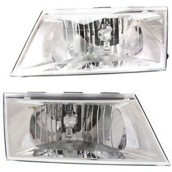 Headlight Lamp Left-and-right Fo2502239 Fo2503239 Lh And Rh For Grand Marquis