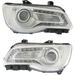 Headlight Lamp Left-and-right Ch2502268c Ch2503268c 68196276ad 68196277ad