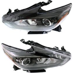 Headlight Lamp Left-and-right Ni2502243 Ni2503243 260109hs2a 260609hs2a