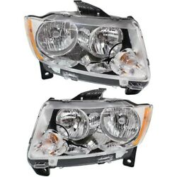 Headlight Lamp Left-and-right Ch2503224 Ch2502224 55079378af 55079379af