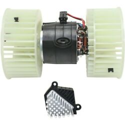 Blower Motors Set Of 2 Front For 525 528 530 540 64118385558 E53 X5 Series Pair