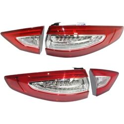 Tail Light Lamp Left-and-right Lh And Rh For Ford Fusion 2013-2016