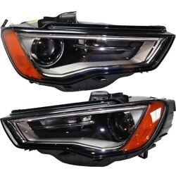 Hid Headlight Lamp Left-and-right Hid/xenon Au2502191 Au2503191 Lh And Rh For A3