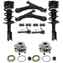 Set of 10 Control Arm Ball Joint Suspension Kit Front Left-and-Right for Chevy