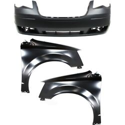 Auto Body Repair Bumper Cover For 2008-2010 Chrysler Town And Country Front Kit