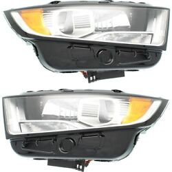 Fo2502343 Fo2503343 Hid Headlight Lamp Left-and-right Hid/xenon Lh And Rh