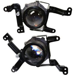 Set Of 2 Fog Lights Lamps Front Left-and-right Ki2592144, Ki2593144 Lh And Rh Pair
