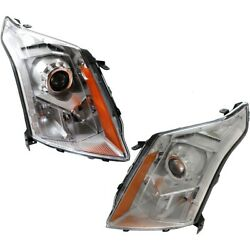 Headlight Lamp Left-and-right Gm2502432 Gm2503432 23315408 23315409 Lh And Rh