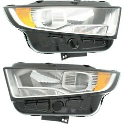 Headlight Lamp Left-and-Right FO2502341 FO2503341 FT4Z13008A FT4Z13008F