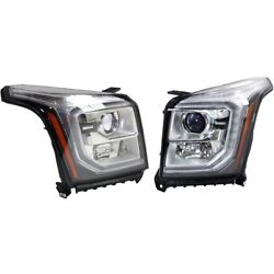 Headlight Lamp Left-and-right Lh And Rh Gm2502409, Gm2503409 23342010, 23387147