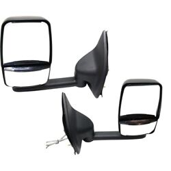 Mirror For 2002-2007 Ford F-250 Super Duty Left And Right Set Of 2 Short Arm