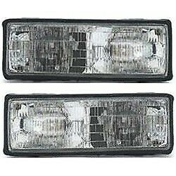 Headlight Lamp Left-and-right For Chevy Gm2503110, Gm2502108 16513076, 16513075