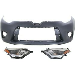 Auto Body Repair Front TO1000399, TO2502216, TO2503216 for Toyota Corolla 14-16