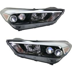 92101d3350, 92102d3350 Hy2502200, Hy2503200 Headlight Lamp Left-and-right