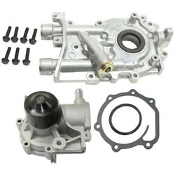 Pair Oil Pumps Set Of 2 For Subaru Legacy Impreza Outback Forester Baja 03-06