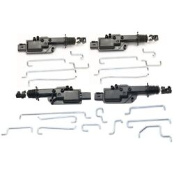 Door Lock Actuators Set of 4 Front & Rear Left-and-Right Sedan LH RH for Lincoln