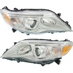 Headlight Lamp Left-and-right To2502210c To2503210c 8115007110 8111007110
