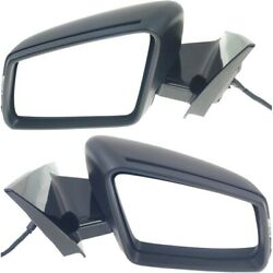 Pair Set Of 2 Mirrors Left-and-right Heated For Mercedes E Class Coupe Lh And Rh