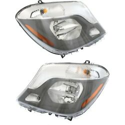 Headlight Lamp Left-and-right For Mercedes Lh And Rh Mb2502221c, Mb2503221c
