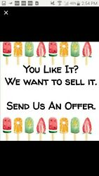 Please Submit A Seasonable Offer.all Reasonable Offers Are Apreciatted.