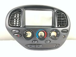 00-06 Toyota Tundra Climate Control Panel Integration Radio Face Bezel Faceplate